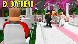 We Threw A FAKE WEDDING To Catch My EX BOYFRIEND! (Roblox Bloxburg)