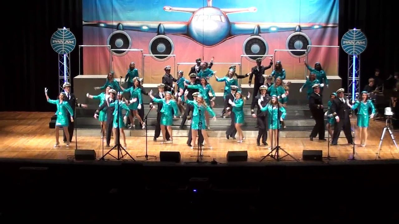 Nitro ShowCats Show Choir Jet Set Swing Sing 2013 - YouTube