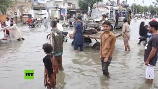 Al menos 17 muertos en Pakistán por las fuertes inundaciones