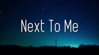 Axel Johansson - Next To Me (Lyrics) [Alan Walker Style]