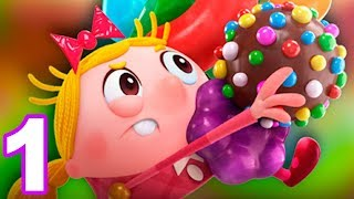 Candy Crush Tales (by King) Android Gameplay Trailer - Walkthrough Episode 1