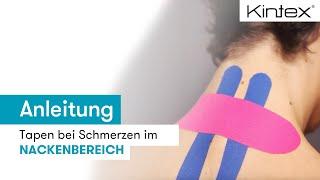 Video: Nacken tapen (Verspannungen & Schmerzen)