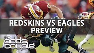 Washington Redskins vs Philadelphia Eagles Week 14  | The Odds Couple With Al McMordie | NFL Picks