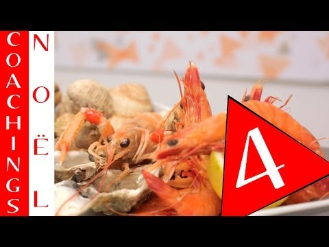 Les coachings de Noël : Les Fruits de Mer