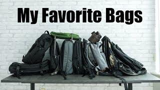 My Favorite Backpacks (So Far)