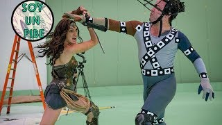 Wonder Woman Detrás de cámaras