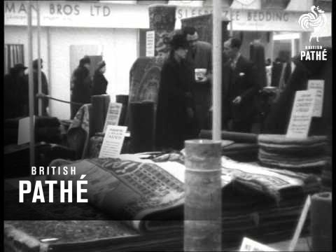 Queen Mary At Ideal Home Exhibition (1947)