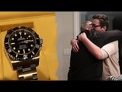 Thumbnail: 16 YEAR OLD BUYS HIS DAD A ROLEX FOR CHRISTMAS!!