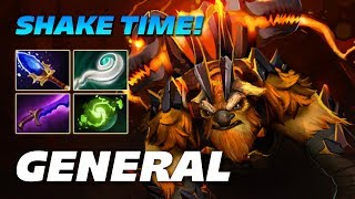GeneRaL Earthshaker - SHAKE TIME - Dota 2 Pro Gameplay