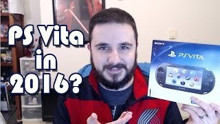 Why I Bought a Playstation Vita in 2016 + UNBOXING!
