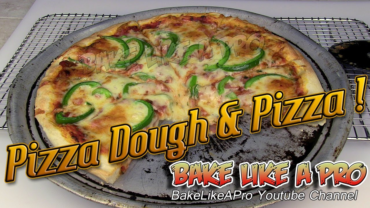 Food processor pizza dough and pizza recipe youtube food processor pizza dough and pizza recipe forumfinder Images