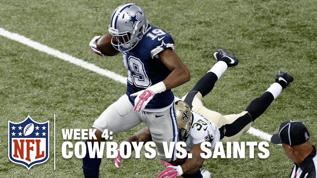 468c762d51a Cowboys WR Brice Butler Goes Deep for a Nice 67-Yard Grab   Cowboys vs.  Saints   NFL
