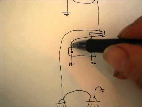 How to Wire headlights (and tail lights) to a lawn mower - YouTube