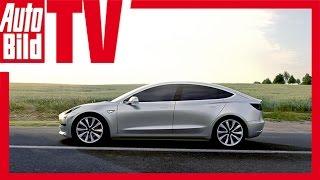 Tesla Model 3 - Vorbestellung Kalifornien