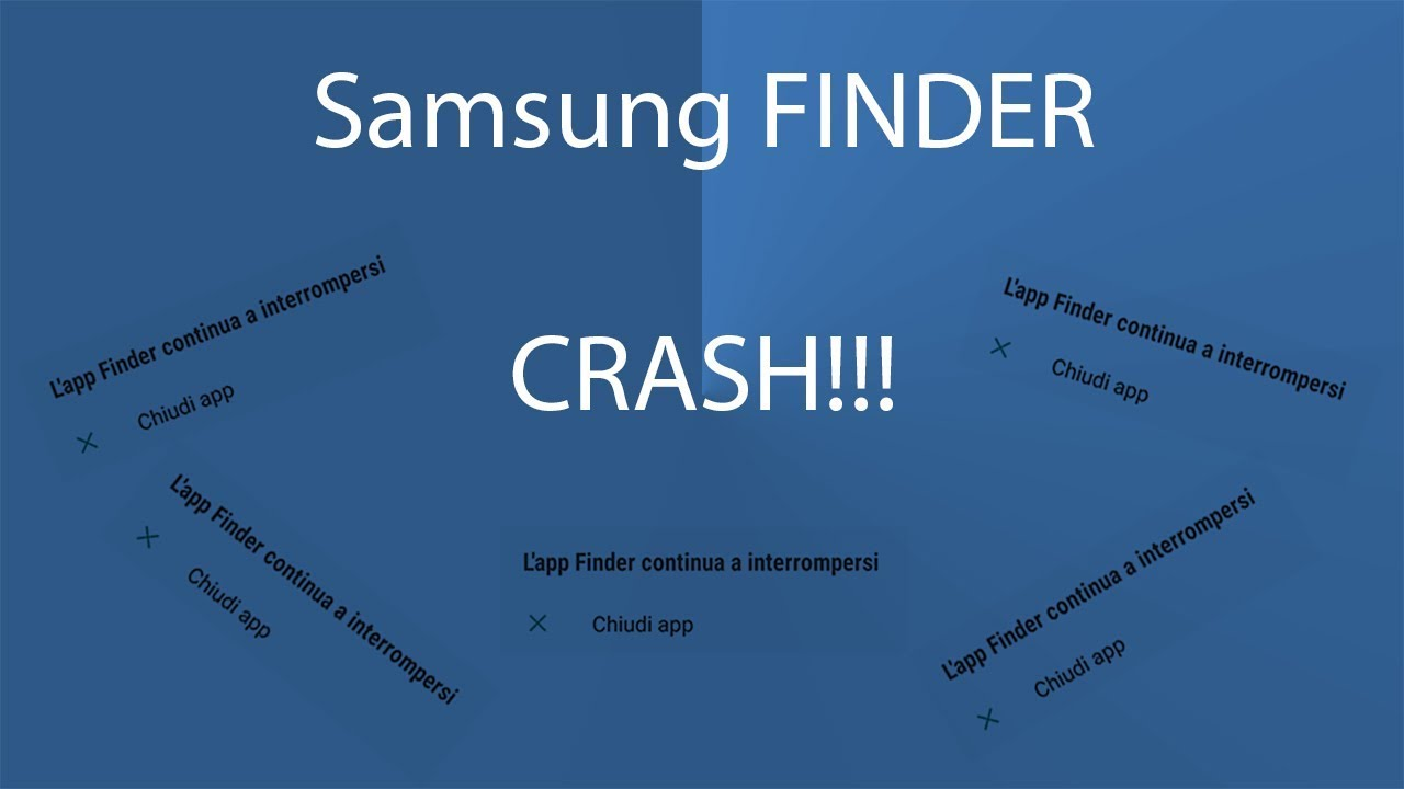 How To Fix Samsung Finder Has Stopped App Crash Galaxy S8 S8