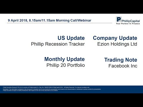 Market Outlook: Facebook Inc, Ezion Holdings, Phillip 20 Portfolio, Recession Tracker