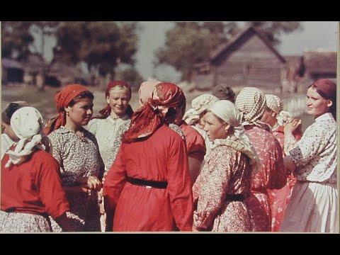 Немецкие фотографии Русской деревни / German Photos Of A Russian Village: 1942-1943