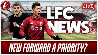 FIRMINO FIT AND STRIKER A PRIORITY? | LFC News Show