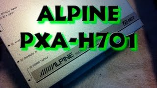 Alpine PXA-H701 Active Processor Crossover Unboxing