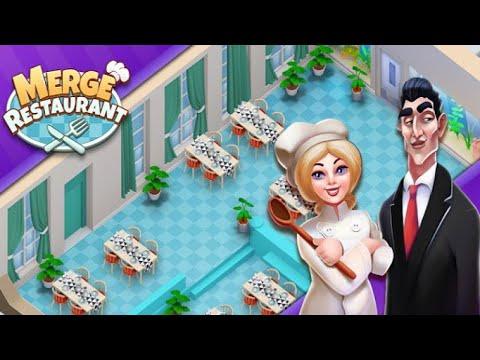 Merge Restaurant  - Ios Gameplay | New Game |