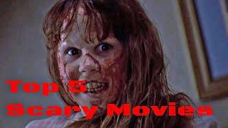 Top 5 Scary Movies // John Bartolo Show