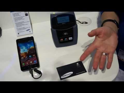 NFC - SAMSUNG GALAXY S 2 - MWC 2011
