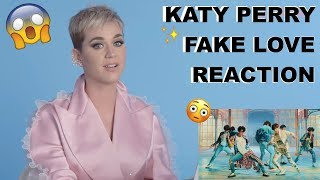 Katy Perry Reacts to FAKE LOVE - BTS