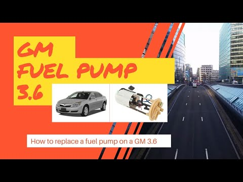 How to replace a Saturn Aura XR 3.6 Fuel Pump