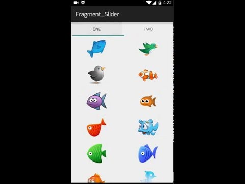 Create Tab Layout In Android Without ViewPager