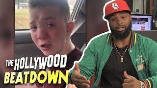 Tyron Woodley Shames Keaton Jones' Racist Parents | The Hollywood Beatdown
