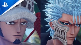 Jump Force - Law and Grimmjow DLC Trailer | PS4