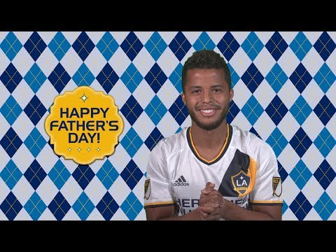 Gio Dos Santos wishes his dad a Happy Father's Day