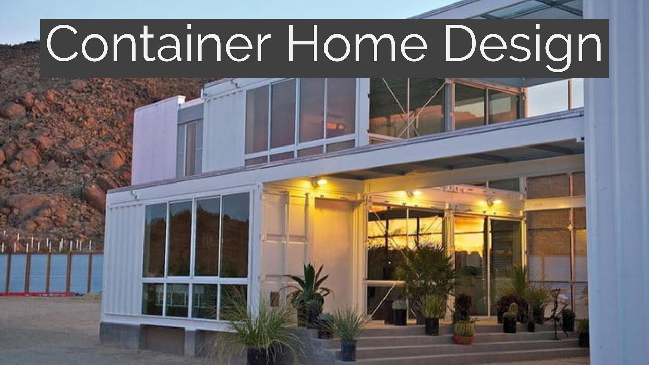 container home design youtube