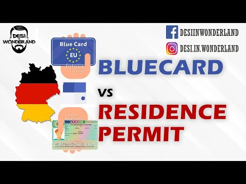 Blue Card vs Normal residence permit Germany