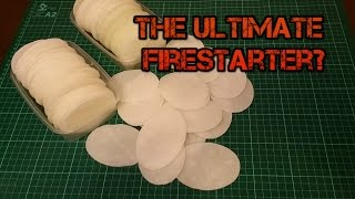 The Ultimate Bushcraft/Prepper Firestarter? Home made. Cheap. 100% Waterproof and Reliable