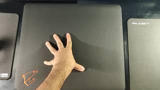 Glide 19 vs AMP500 Hybrid Mouse pad Comparison