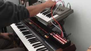 Korg SQ 1 Sequencing a Roland SH 101