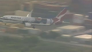شاهد: محاولة هبوط فاشلة للطائرة التي كانت تقل الأمير هاري وميغان في مطار أستراليا…