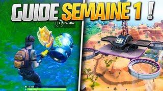 GUIDE COMPLET des DÉFIS de la SEMAINE 1 SAISON 9 de FORTNITE ! (Fortnite Astuce)