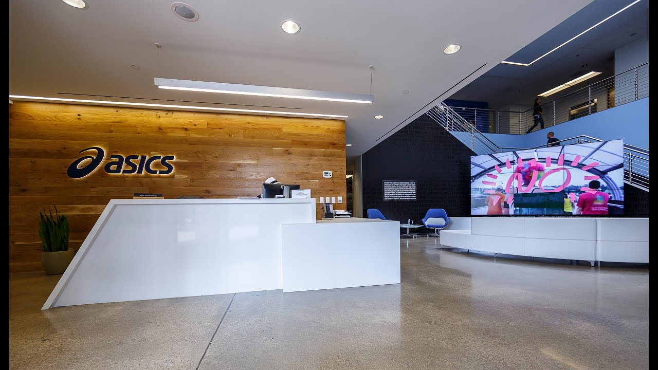 Office Tour: Asics North America Headquarters Grand Opening | LPA - YouTube