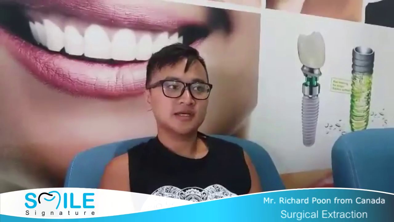 I Didn T Feel Pain At All On Surgical Wisdom Teeth Extraction At Smile Signature Dental Clinic Youtube