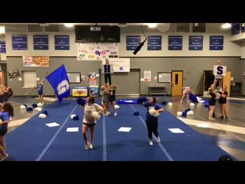 Gunter high school UIL cheer 2017-2018
