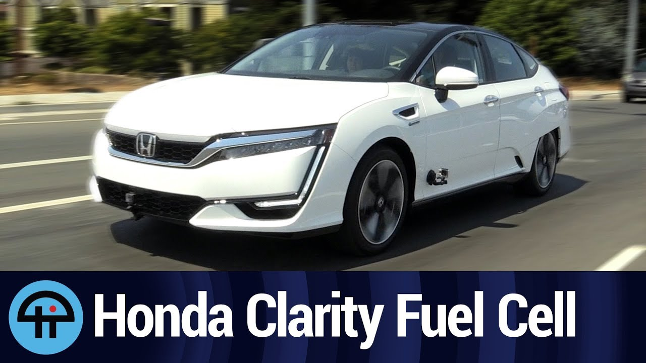 Driving the Hydrogen-Powered 2018 Honda Clarity Fuel Cell