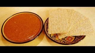 Amlou Recipe - Moroccan Almond Dip With Argan Oil - Cookingwithalia - Episode 46