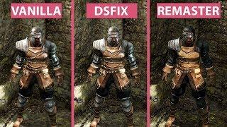 [4K] Dark Souls – Original vs. DSfix & Mods vs. Remastered Graphics Comparison