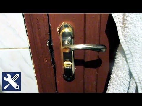 ✅ Как заменить замок межкомнатной двери с разворотом защелки / Мелкий ремонт