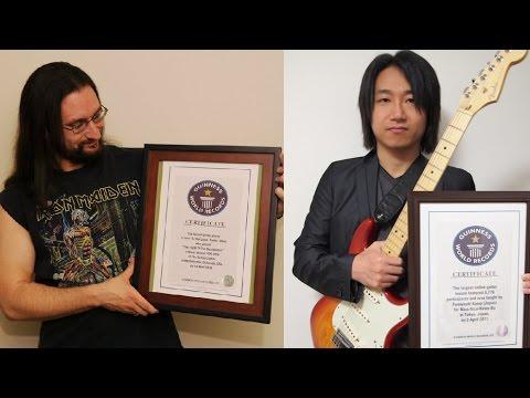 ギネス記録ギタリストによる究極の速弾きバトル!/Guinness World Record guitarists shred battle!