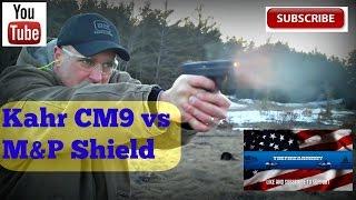 kahr cm9 vs m shield best concealed carry gun thefirearmguy