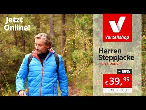 Youtube 508Vorteilshop Nordcap Steppjacke Herren – 241 f6gy7b