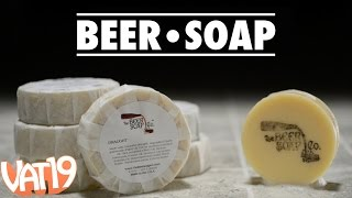 Soap made from real beer!